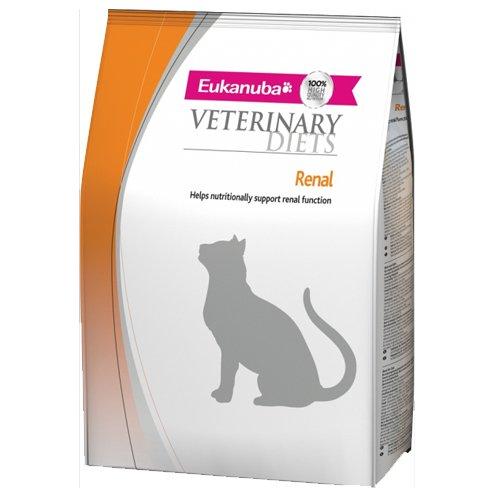 Eukanuba - Tierdiäten - Trockener Nierenversagen - Erwachsene Alle Rassen Hühnchen - Katze, 1er Pack (1 x 1500 g)