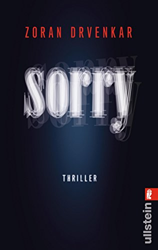 Buchcover Sorry: Thriller