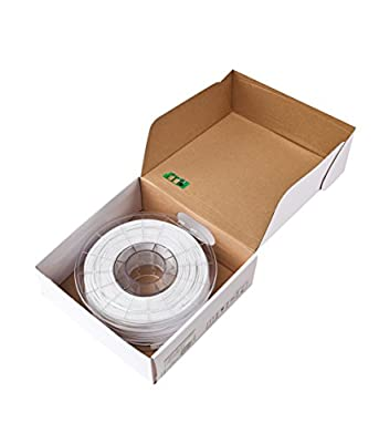 Sindoh 3DWOX Refill Filament PLA White (Compatible with DP200, DP201, 2X), Spool, 1.75 millimeters Diameter
