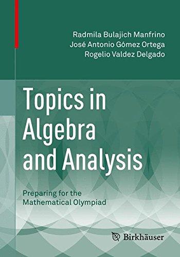 Topics in Algebra and Analysis