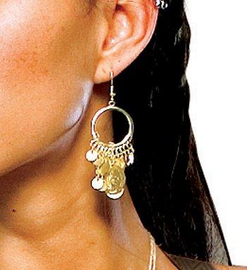 Ohrringe Königin Gorgo 300 (Queen 300 Kostüm)