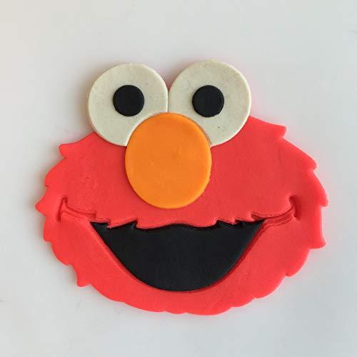9 Ausstechformen-Set Elmo Face 3 inches rot ()