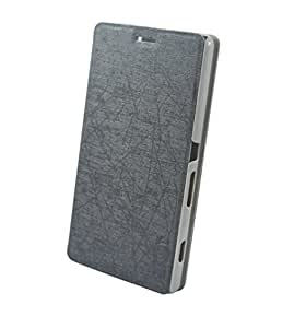 Skoot Filp flap cover Case for Sony Xperia C4 Dual-Black