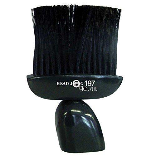 Head Jog Nouveau Neck Brush, Black Number 197 by Hair Tools