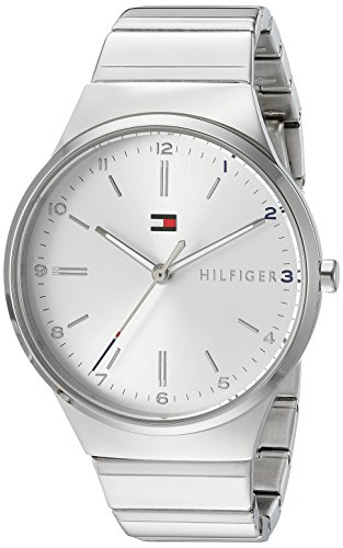 Tommy Hilfiger Women's 'Sophisticated Sport' Quartz and Gold Stainless-Steel Casual Watch, Color Silver-Toned (Model: 1781797)