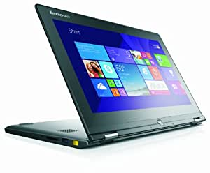 Lenovo Yoga 2 11 11.6-inch Touch Convertible Laptop - Black (Quad Core Pentium N3520 2.17GHz, 4GB RAM, 500GB HDD, Integrated Intel Graphics, No DVDRW, Windows 8)