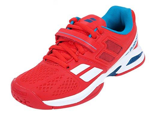Babolat - Propulse 5 Allcourt Chaussures de tennis Enfants (rouge) - EU 38 - UK 5