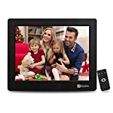 Arzopa 8 inch Digital Photo Frame,4:3 HD Picture Video(1080P) Frame with Auto-Rotate, MP3