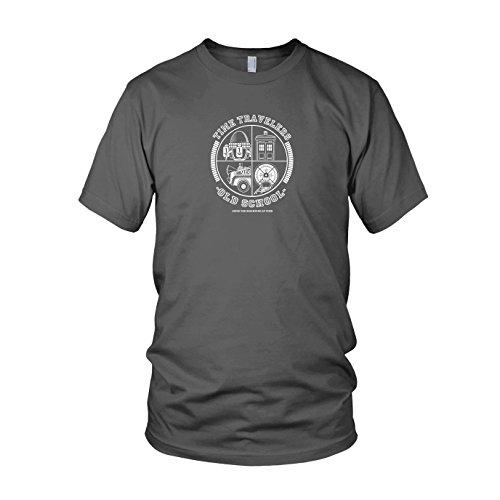 Time Travellers - Herren T-Shirt, Größe: XL, Farbe: grau (1 Dragon Ball 2 Z Staffel Und)