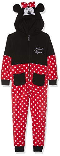Disney Minnie Mädchen Jumpsuit  3713, Rot Rouge, 4 Jahre (104) -