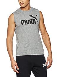 Puma T-shirt ESS No. 1sans manches pour homme