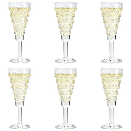 Durobor Etore Coupe � Champagne 140ml - Lot de 6