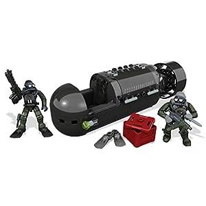 Mattel Mega Bloks CNG80 – Call Of Duty – Seal Sub Recon Bau und Konstruktionsspielzeug
