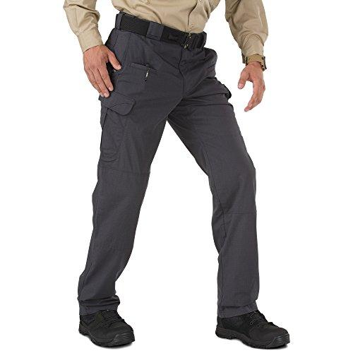 5.11 Stryke - Pantalones tácticos (material Flex-Tac), Exterior, hombre, color gris oscuro, tamaño 38W-30L