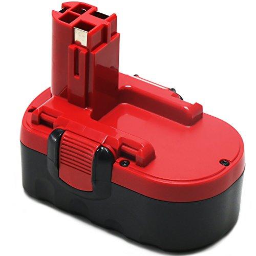 POWERAXIS 18V 2.0Ah NI-MH Utensili Elettrici Batterie per BOSCH BAT025 BAT026 BAT160 BAT180 BAT181 BAT189 PSB 18 VE 2 PSR 18 VE-2 1644B-24 1659K 1659RK 1688K-24 22618 2 607 335 265 2 607 335 266 2 607 335 270 2 607 335 27