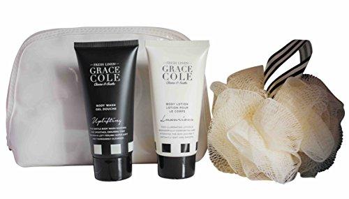 Grace Cole fresco lino 4-pc Body Beautiful bagnano insieme :