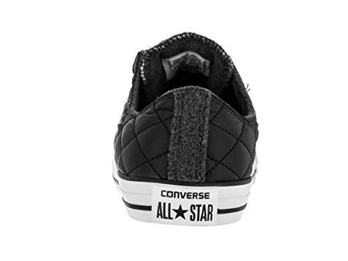 Converse All Star Ox Homme Baskets Mode Noir Noir
