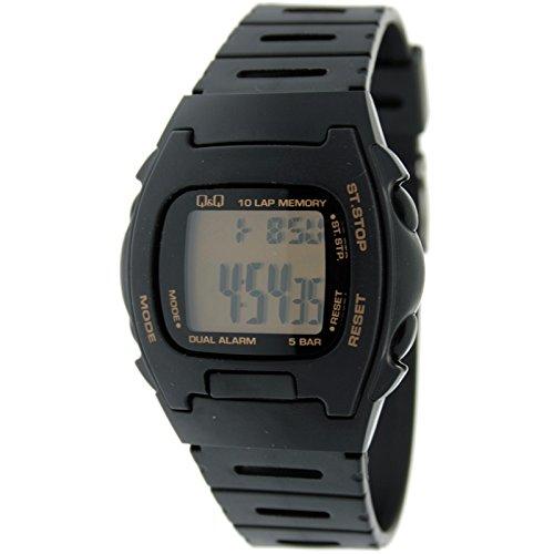 Reloj digital Caballero Q&Q Mod.MAC5-109 - Crono memorias
