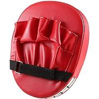 vige Almohadillas de Objetivo de puño de Mano Flexible Sanda Taekwondo Entrenamiento de pie Muay Thai MMA Boxeo de Mano Objetivo Karate Kung fu Pad