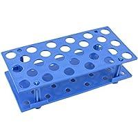 DealMux plástico azul 28 agujeros de 16 mm desmontable recipiente centrífugo Gradilla