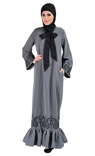 East Essence - Robe - Solid - Femme Gris - Gris