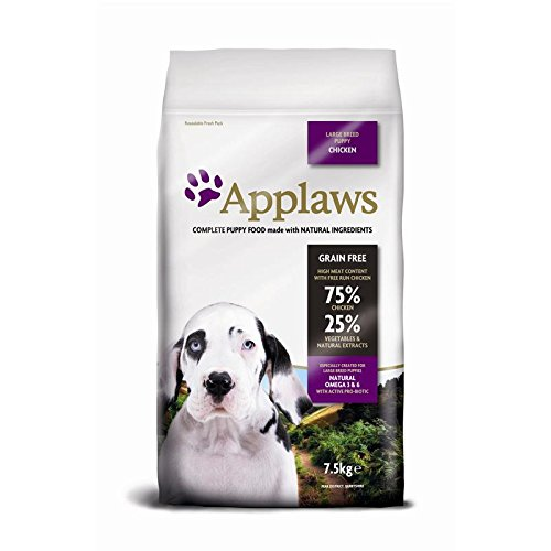 Applaws Natural, Complete Dry Dog Food 7.5kg Large Breed Puppy Chicken