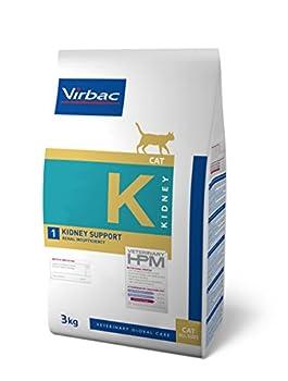 Virbac Veterinary HPM Cat Kidney Nourriture pour Chat Sac de 3 kg Taille M