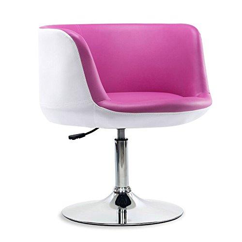 Hocker YANFEI Rotary Sessel Sofa Barhocker Frühstück Küche Esszimmerstuhl Badewanne Stuhl Vanity Stuhl Sitz Einstellbare 46-58 cm (Farbe : B)