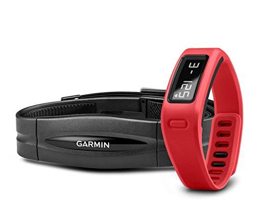 Garmin vívofit Fitness-Tracker (1 Jahr Batterielaufzeit, inkl. Herzfrequenz-Brustgurt)