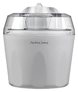 Andrew James Ice Cream, Sorbet and Frozen Yoghurt Maker Machine