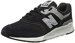 New Balance Herren 997H Core Sneaker, Schwarz (Black/Silver Charcoal), 43 EU