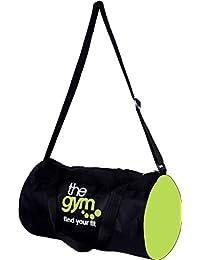 S.Blaze S.Blaze Amazing Heavy Duty Zipper Type Designer & Stylish Gym Bag For Men's & Women's Zipper Gym Bag Black... - B07DKDYFFY