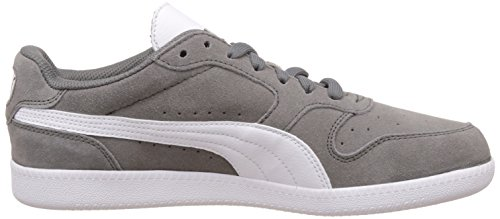 Puma Icra Trainer SD, Sneakers basses mixte adulte Gris - Grau (steel gray-white 19)