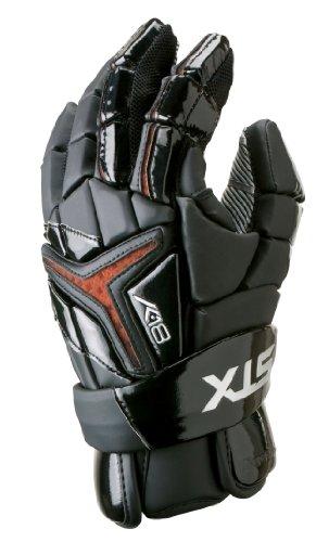 STX Lacrosse k-18Handschuh, schwarz