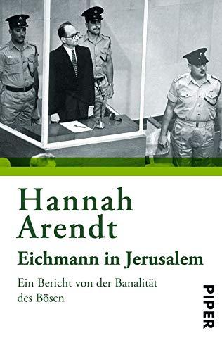 Buchseite und Rezensionen zu 'Eichmann in Jerusalem: Ein Bericht von der Banalität des Bösen' von Hannah Arendt