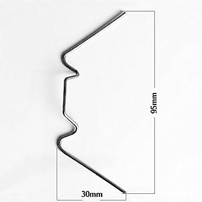 Deuba Gewächshaus Klammern | rostfrei | Hohlkammerplatte Scheiben Befestigung Gewächshäuser Zubehör - Mengenauswahl von DEUBA auf Du und dein Garten