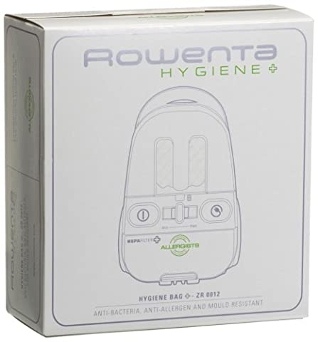 Rowenta ZR0012 Boîte de 4 Sacs Microfibre Hygiène +