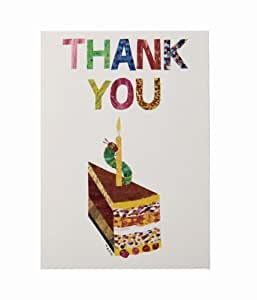 Hungry Caterpillar Thank You Cards - Pack of 10