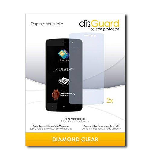 2 x disGuard® Bildschirmschutzfolie Allview V1 Viper L Schutzfolie Folie