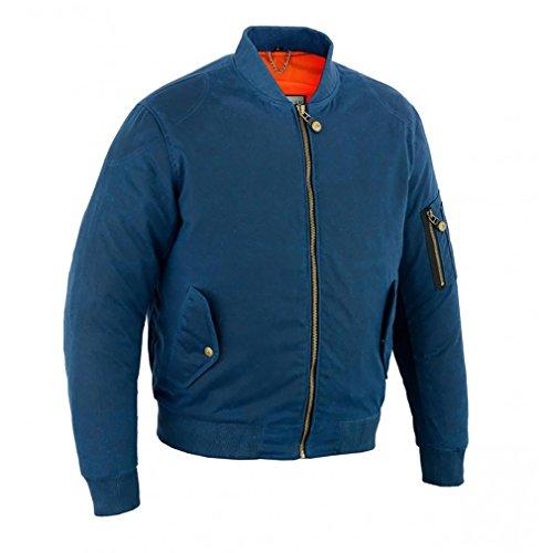 Preisvergleich Produktbild Original Driver Herren Jacke waxcoton Bombers,  blau,  Größe M
