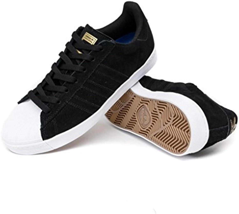 Adidas Superstar Vulc ADV, Zapatillas de Deporte para Hombre, Negro (Negbas/Ftwbla / Dormet 000), 46 EU
