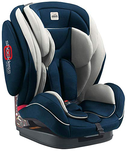 Cam il mondo del bambino art.s162/497 seggiolino auto regolo, blu