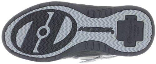 Heelys Sport, Chaussures de skate garçon Noir (Black Pewter Silver)