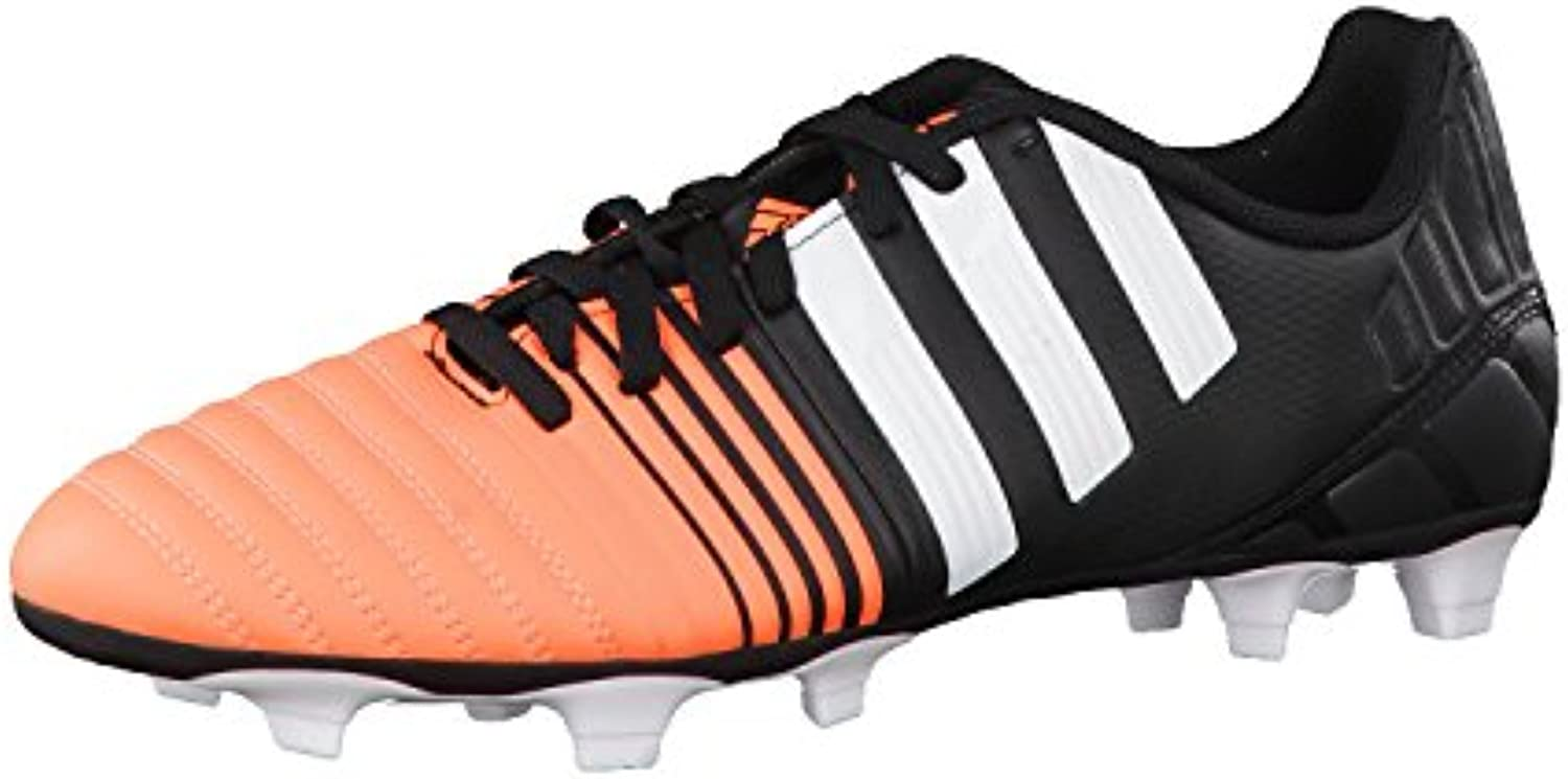 adidas Fussballschuhe Nitrocharge 4.0 FG 40 core black/ftwr white/flash orange s15