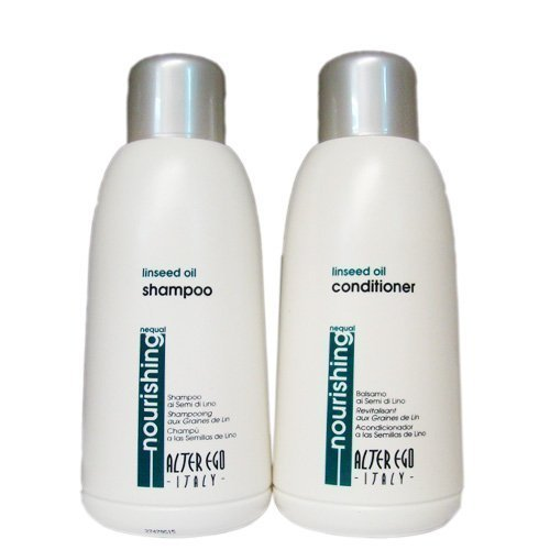 Alter Ego nourishing linseed shampoo and conditioner
