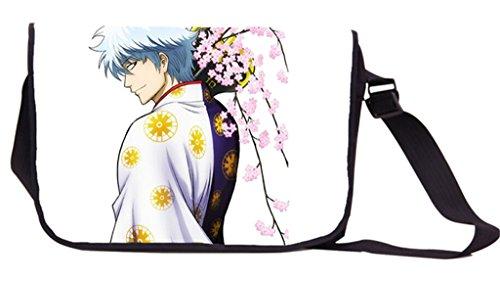Siawasey Gin Tama-Anime Cosplay Messenger Bag Umhängetasche Tasche Handtasche Schultertasche -