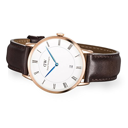 Daniel-Wellington-mens-Quartz-Watch-Analogue-Display-and-Leather-Strap-1103DW