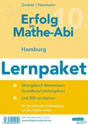Erfolg im Mathe-Abi 2009 Hamburg Lernpaket: Übungsbuch für das Basiswissen in Hamburg mit Tipps und Lösungen sowie Lernkarten für die optimale Vorbereitung auf das Mathe-Abitur