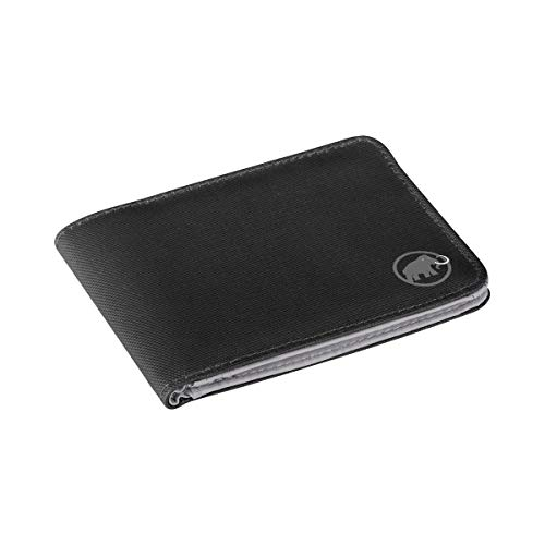Mammut Geldbörse Flap Wallet, Black, 12 x 9 x 1 cm, 2520-00700-0001-1 -