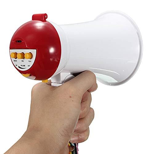 are Handheld Megaphon Lautsprecher Verstärker Recorder BullhornRed ()